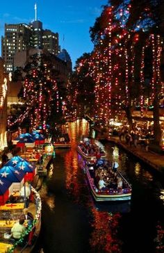 San Antonio Riverwalk by Naghma