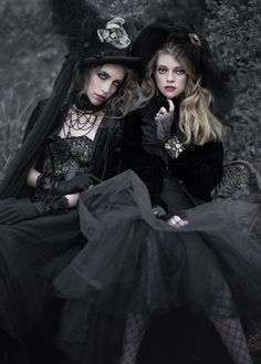 Photographer: Richard Pryde Sylist: Fiori Couture Hair: Sasha Gold Makeup: Kim Young Model: Nicole and Megan