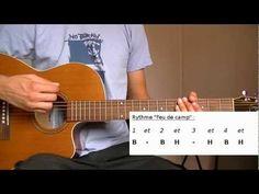 Cours de Guitare débutant : Rythme Feu de camp - Bing video
