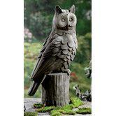 Found it at Wayfair - Owl Garden Statue