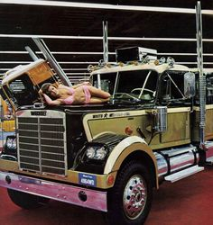 Some trucks have a dog for a hood ornament. just not this one.