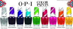 O·P·I Color Paints Blendable Nail Lacquer