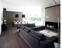 Roobrouck _ Generaal Deprezstraat 2 b, Deerlijk Interior Design Living Room, Living Room Designs, Living Room Decor, Modern Interior Design, Interior Architecture, Lounges, Modern Room, Home And Living, New Homes