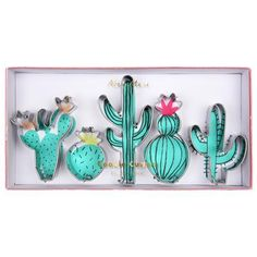 Cactus Cookie Cutters available at Shop Sweet Lulu