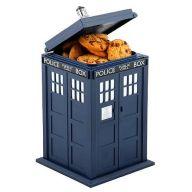 TARDIS cookie jar!  It makes noises!!!