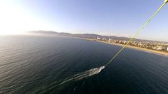 Marina del Rey Parasailing takes you high above the Los Angeles coast with sights like Venice Beach and the Santa Monica Pier