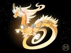 Dragon-A-Day JAN25 - Galaxy by Mythka