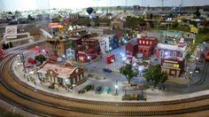 railway model train