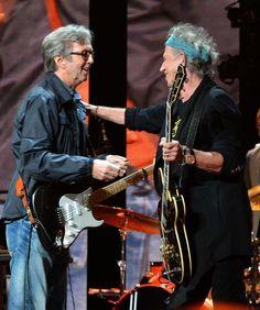 Keith Richard & Eric Clapton's Crossroads Guitar Festival 2013 - Day 2 - Show por Larry Busacca