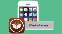 Mira la información del clima desde un banner de notificación con WeatherBanners (jailbreak)
