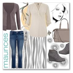 """The Perfect Blouse with maurices: Contest Entry"" by petiteorange ❤ liked on Polyvore featuring beauty and maurices"