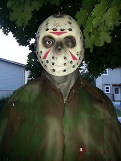Jason Halloween Projects, Halloween Face Makeup, House, Home, Homes, Houses