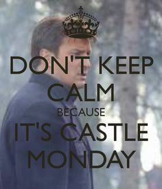 Ugh I have Castle Tuesdays cuz I have to stream it from abc.go.com :P