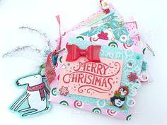 Snow Day Envelope Flip Mail. Snail mail ideas shop.serenabee.com