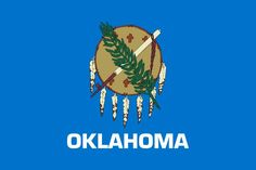 Posted on November 2016 The capital of Oklahoma is Oklahoma City. The largest city of Oklahoma is Oklahoma City. And people who . Us States Flags, U.s. States, United States, Oklahoma City, Oklahoma Sooners, Oklahoma Tornado, Shawnee Oklahoma, Ohio, Flags Of The World