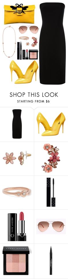 """Beekeeper"" by meeshtell on Polyvore featuring Norma Kamali, Dolce&Gabbana, Simply Vera, New Look, Carbon & Hyde, Gucci, Marc Jacobs, Bobbi Brown Cosmetics, Trish McEvoy and Marc by Marc Jacobs"