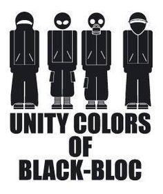 Unity Colors of Black-Bloc
