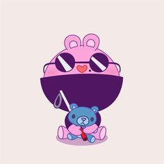 Happy Tree Friends Flippy, The Mole, Creepy Guy, Free Friends, Friend Anime, Fandoms, Cringe, Cute Art, Smurfs