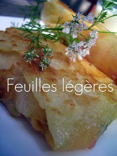 """Les Cuisines de Garance: Les Feuilles de Brick """"Maison ...."""