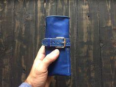 Watch roll holder Watch case holder for men Watch holder for women Leather watch case Brown watch storage  Mans watch cover Travel watch