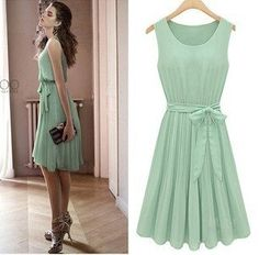 $5 Mint Chiffon Dress, $18.04. Somebody PLEASE get me this for Christmas! $5 Deal