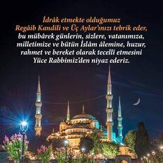 Regaib Kandili En Güzel Mesajları - Güzel Sözler Taj Mahal, Islam, Travel, Viajes, Trips, Tourism, Traveling
