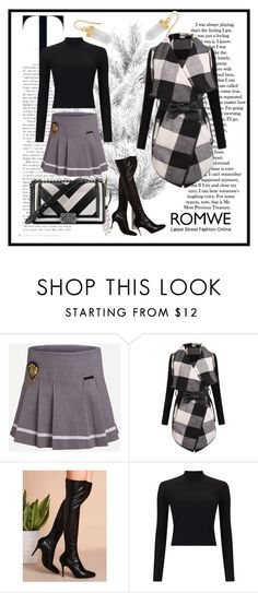 """Romwe 5"" by dinka1-749 ❤ liked on Polyvore featuring Miss Selfridge, Chanel and BillyTheTree"