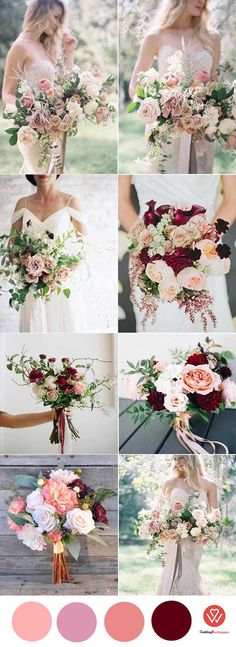 WEDDING PANTONE NEUTRAL COLOR: MARSALA IN 2018 WEDDING TRENDY - Wedding Invites Paper Marsala wedding bouquets/ rustic fall wedding bouquets/ burgundy and Marsala wedding bouquets/ cheap wedding bouquets