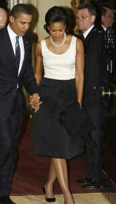 President & 1st Lady Obama