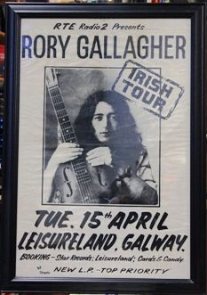 Rory Gallagher Celebration- With readings by biographer Marcus Connaughton, poet Louis De Paor, and music by Gerry Diamon, Ray Diamond, Albert Niland, and Cormac Dunne. Wednesday 5th of December at 6pm  Everyone Welcome!