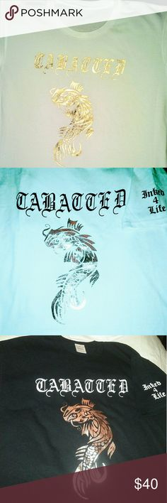 Tabatted T-shirts & Accessories Tabatted Is A Line Truly For The Tattooed & Ink World Tabatted Is Just Another Way Of Saying That You Are Tatted & Inked Up 4 Life Tabatted Shirts Tees - Short Sleeve