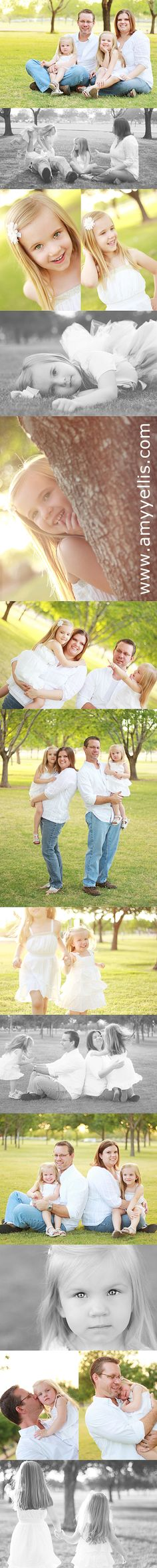 family pictures in the park