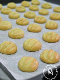 Melt-in-mouth German cookies (metric)   # Pin++ for Pinterest #