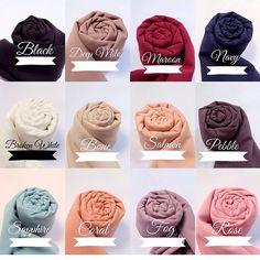 Pashmina Diamond Italiano IDR : Contact : Line : nikkafitriana IG. Modern Hijab Fashion, Abaya Fashion, Colorful Fashion, Nude Scarves, How To Wear Scarves, Hijab Dress, Hijab Outfit, Hijab Style Tutorial, Fabric Photography