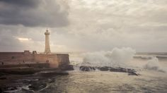 Rabat - Fort de la Calette Lighthouse - 2 by Amine Fassi on 500px