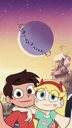 "Star Butterfly is another dimension of magic princess who is sent to Earth by his parents as ""exchange student"". But instead of living a normal life, she continues to fight villains not only throughout the universe, but also in school. Bear Wallpaper, Wallpaper Iphone Cute, Disney Wallpaper, Cartoon Shows, Cartoon Pics, Cartoon Art, Star E Marco, Disney Cute, Star Coloring Pages"