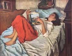 Jerry Weiss, Susan (Summer Reading), Oil on canvas, 30 x 36 in. Reading Art, Woman Reading, Reading People, Art And Illustration, Figure Painting, Painting & Drawing, Image Avatar, Tableaux Vivants, Henri Matisse
