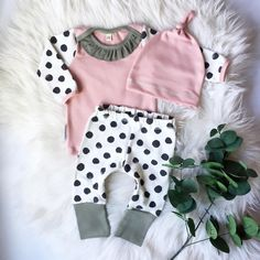 Newborn Toddler Infant Baby Girl Outfit Long Sleeve Tops Shirt Dot Pants Legging Hat Casual Clothes. Click visit to buy #BabyGirlClothingSet #BabyGirl #ClothingSet