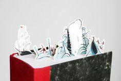 Entre las hojas secas: Separadores de libros de Moby Dick. Por: Pietari P...