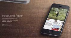 Mehr als eine Nachrichten App: Facebook Paper kommt am 03. Februar