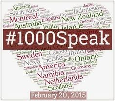 I have joined the #1000Speak for Compassion movement. Let's show compassion to ourselves and others.