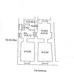 A pochi metri da p.zza Matteotti, piccolo appartamento con ingresso indipendente di due vani oltre a cucina e bagno. Ottimo per investimento, locato al canone di 400 € mensili.