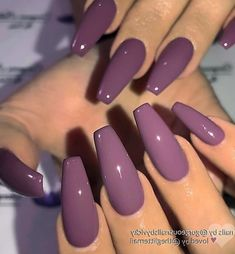 # coffin nails # and # of Plum Purple on long coffin nails image and nail design of GC fit . Plum Purple on long coffin nails image and nail design of GC fiti Long nails Purple Nail Art, Purple Nail Designs, Long Nail Designs, Acrylic Nail Designs, Nail Art Designs, Nails Design, Coffin Nail Designs, Purple Makeup, Coffin Shape Nails