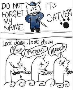 Funny Les Miserables Cat Comic. @Emily Mincey this is soo for you