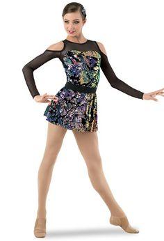 Weissman® | Velvet Cold-Shoulder Mini Dress