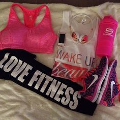 Might workout if I had this outfit!