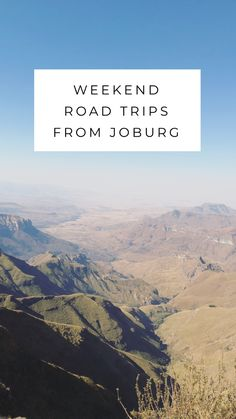 Great options for a weekend road trip from Johannesburg South Africa. All destinations are listed from closest to furthest from Joburg. Sun City Hotel, Sun City Resort, Road Trip Destinations, Amazing Destinations, Weekend Trips, Weekend Getaways, Spa Specials, Africa Travel, Rafting
