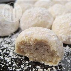Foto da receita: Polvorones (biscoitos de amêndoas mexicanos)