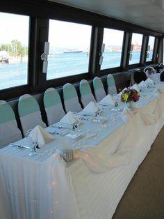 Head Table on a yacht
