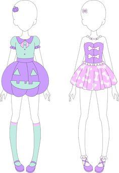 MRA: Fairy Kei Halloween Collection by VanillaChama